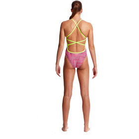 Funkita Strapped In One Piece Traje de Baño Mujer, swim spin